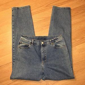 Ralph Lauren High Waisted Medium Wash Jeans